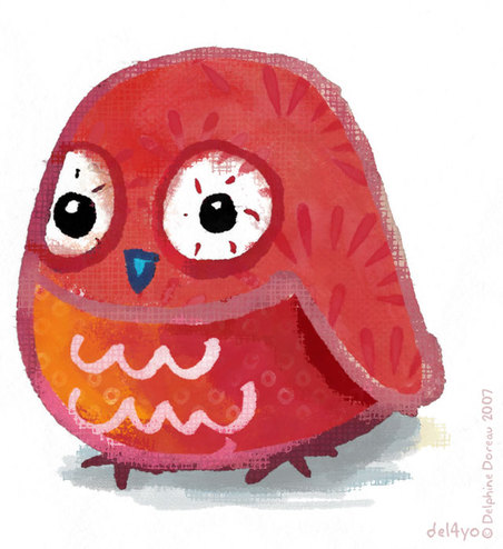 Owl_rouge